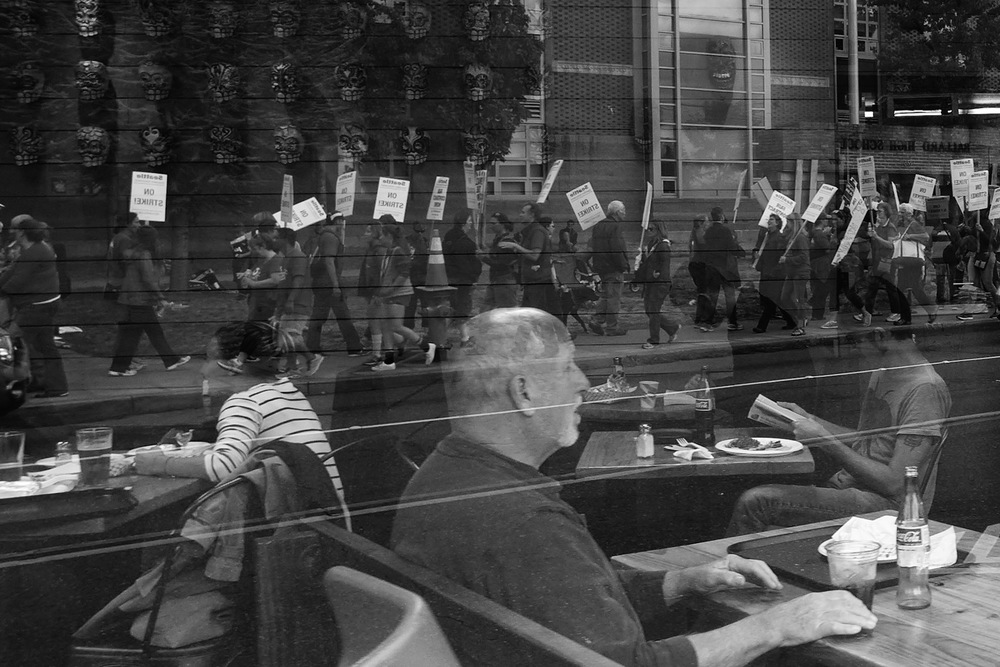 Protest Reflections