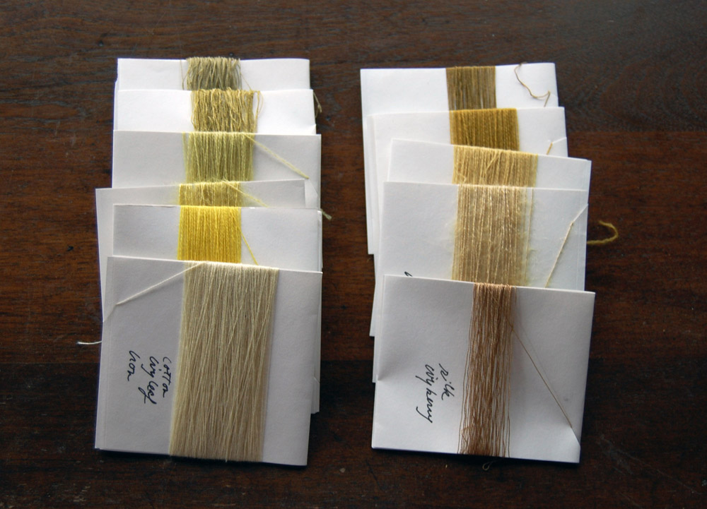ivy dyed threads