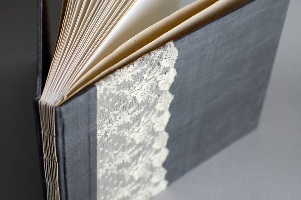 lace guest book