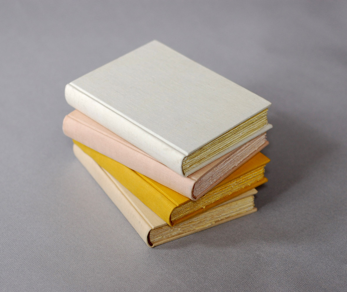 naturally dyed journals