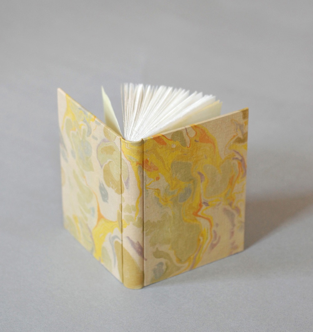 late summer marbled journal