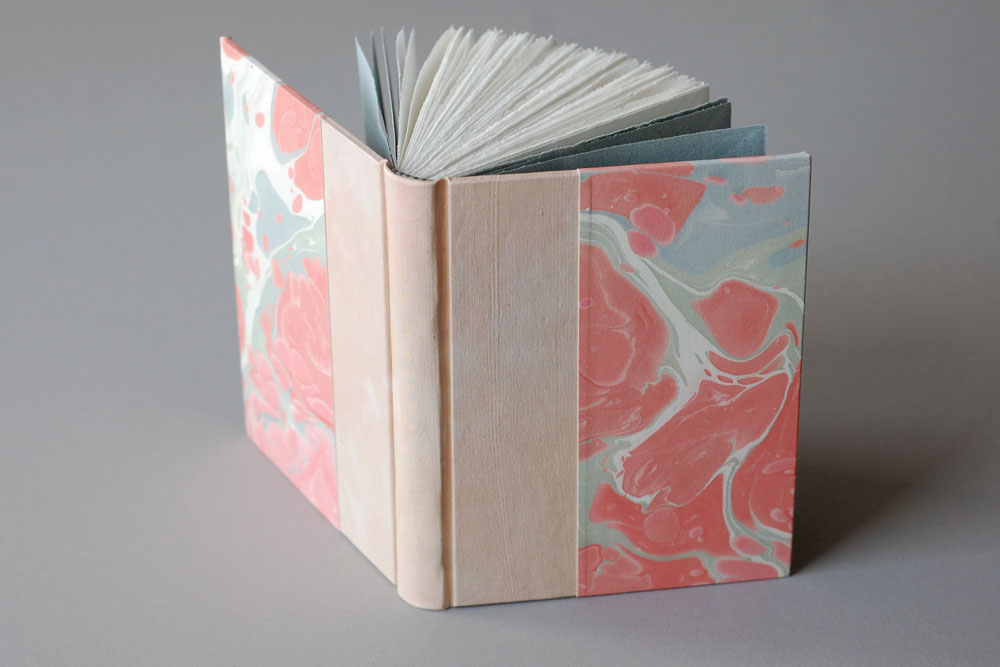 marbled journals