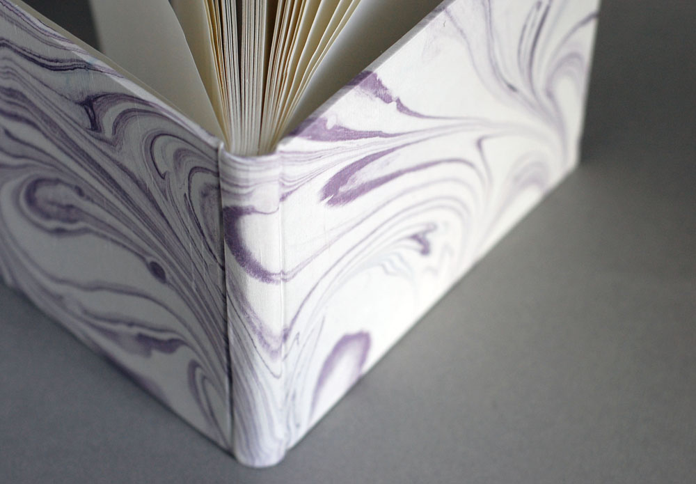 marbled silk journal