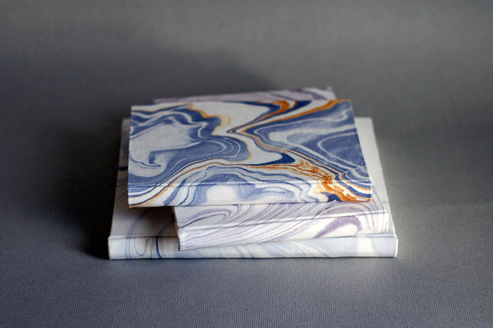 marbled silk
