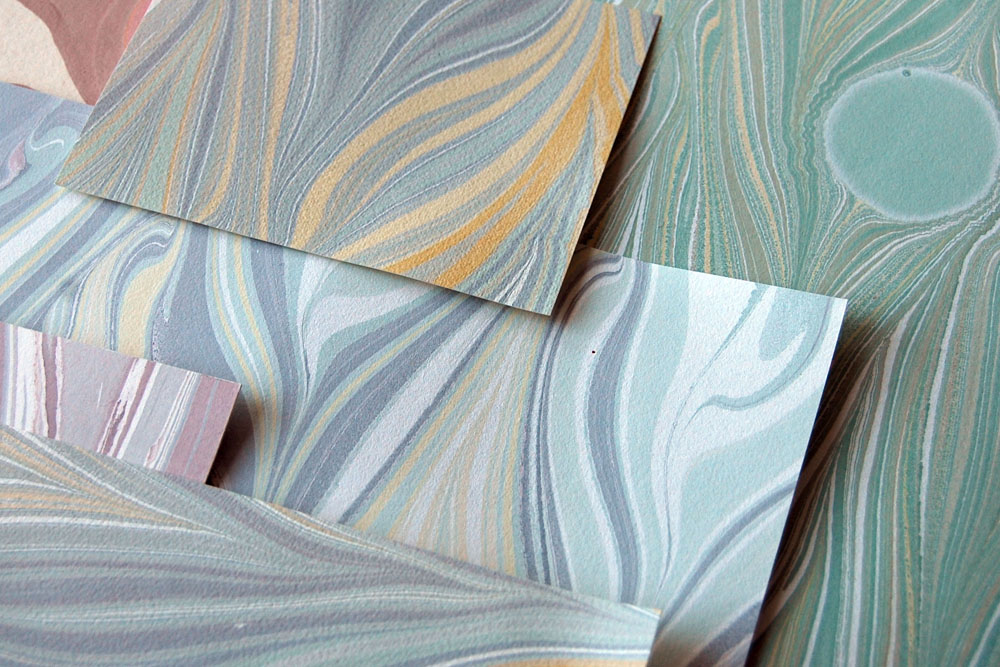 marbled paper assortment