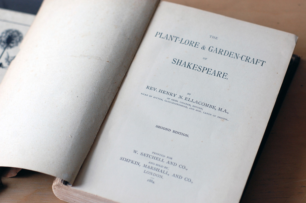 rebinding: the plant-lore and graden-craft of shakespeare