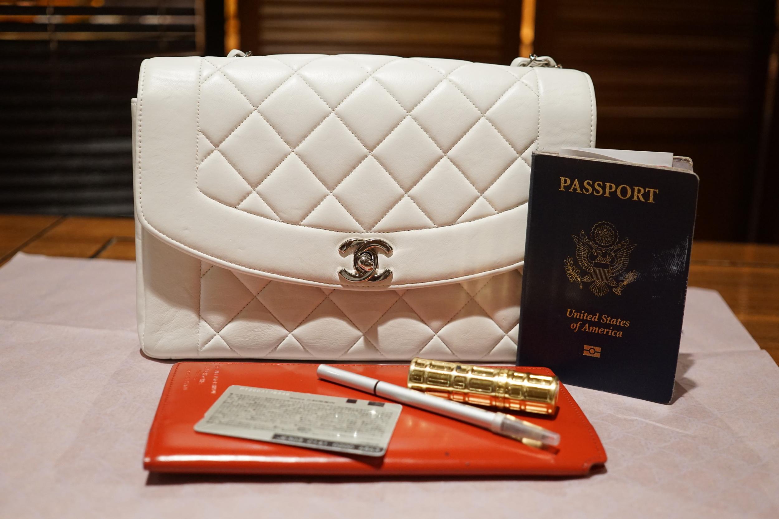 5f4462e407ad 1996 / Chanel Princess Diana White Single Flap — Jetsetter Global