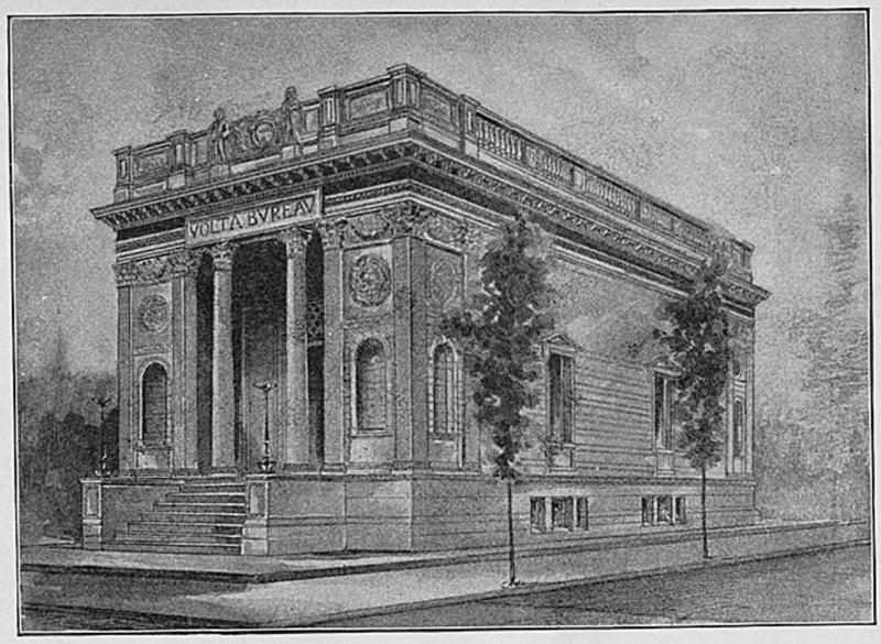 Early design of the Volta Bureau Building Courtesy Library of Congress