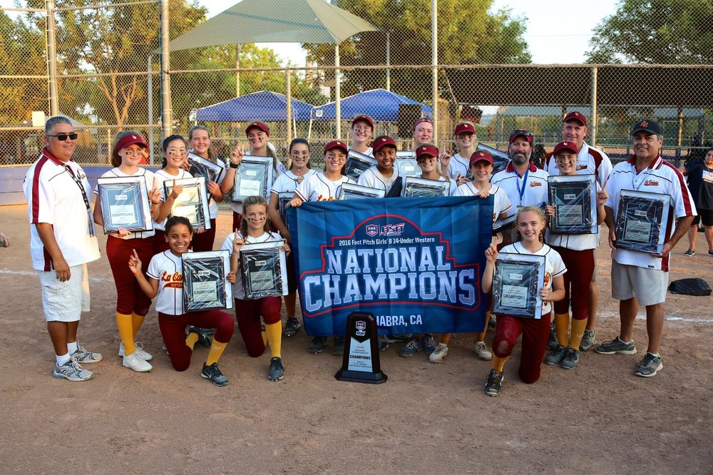 Spartans softball team wins national championship.