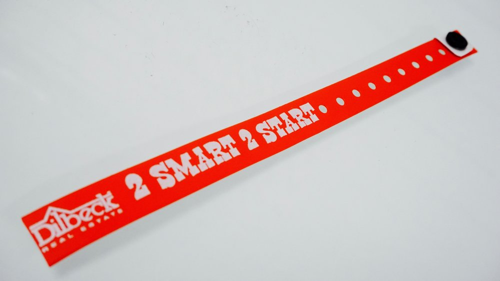 2 smart 2 start ribbon in support of being drug free.