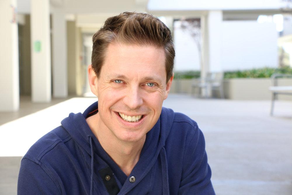 Justin Eick, drama teacher