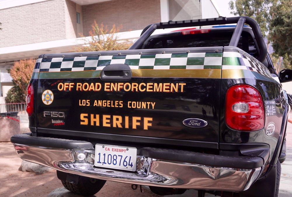 Sheriff Pickup Truck