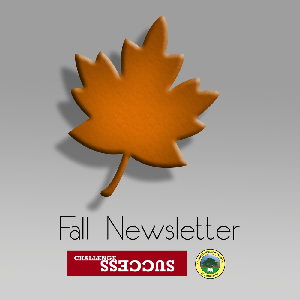 Fall Newsletter Leaf and District Logo