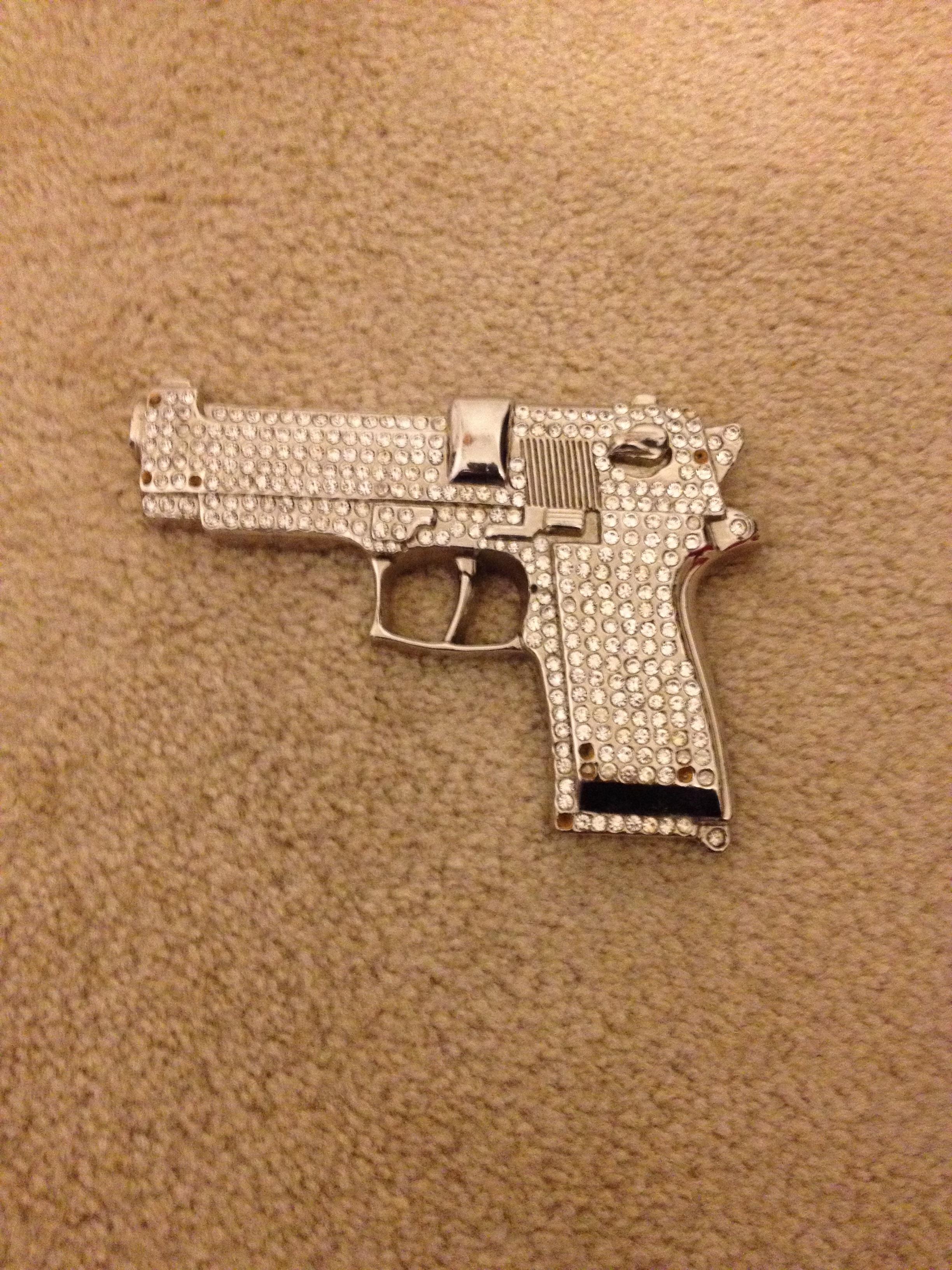 Badazzled gun