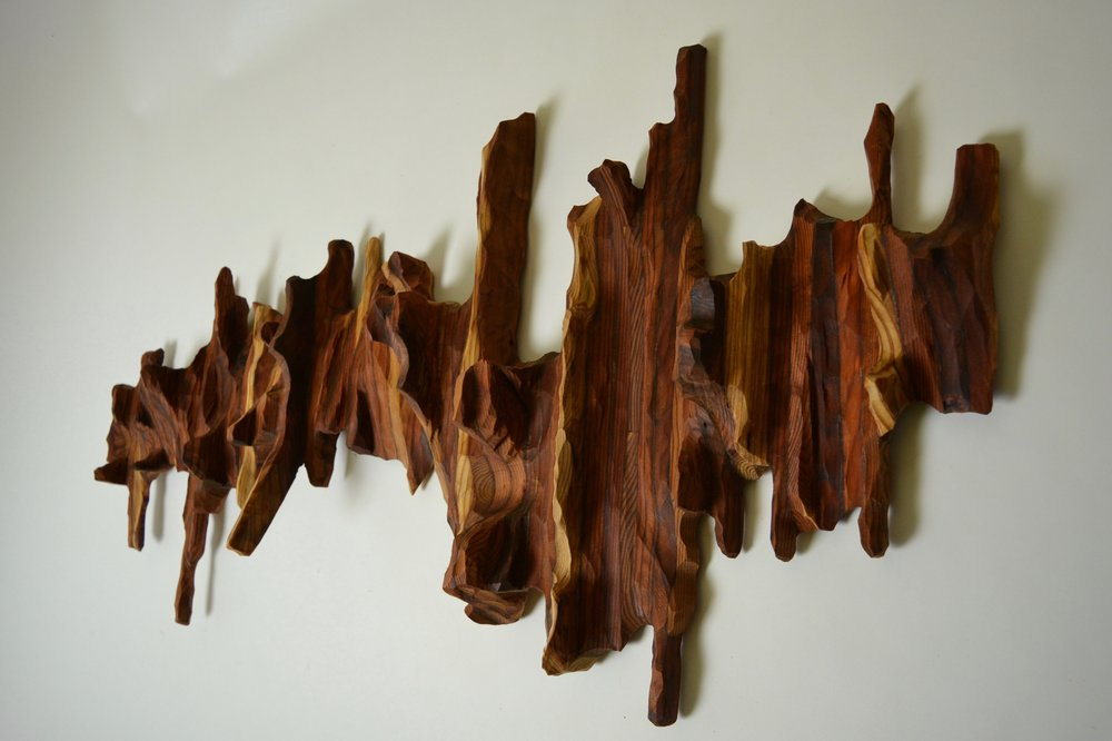 Contemporary wall sculpture by Lutz Hornischer