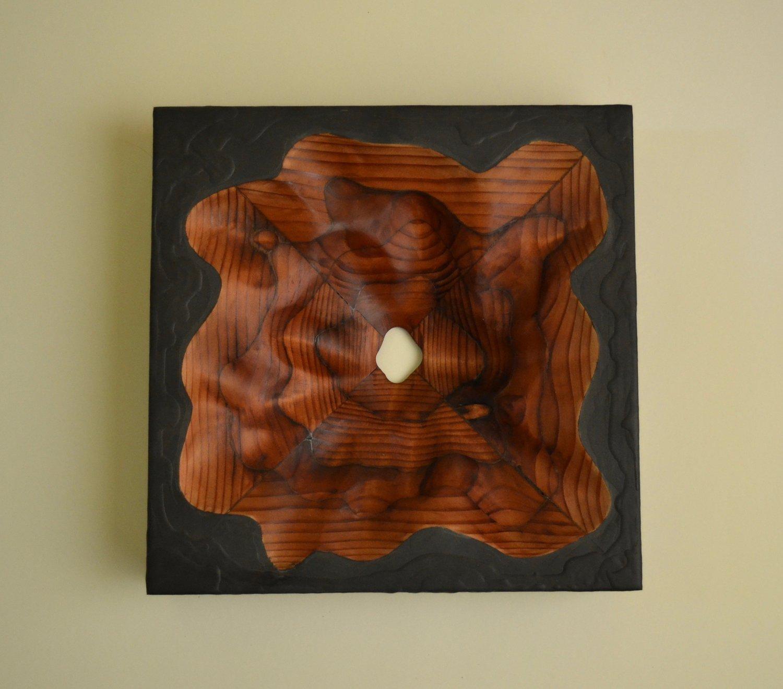 Modern Wood Art Spirit Series Lutz Art Design