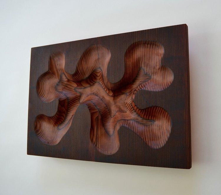 Modern Wood Sculptures and Wall Art by Lutz Hornischer - SPIRIT ...