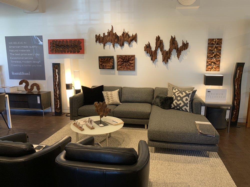 Room And Board San Francisco Interior Design   Artwork By Lutz Hornischer