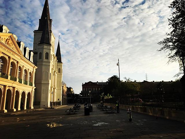 Good morning, New Orleans.