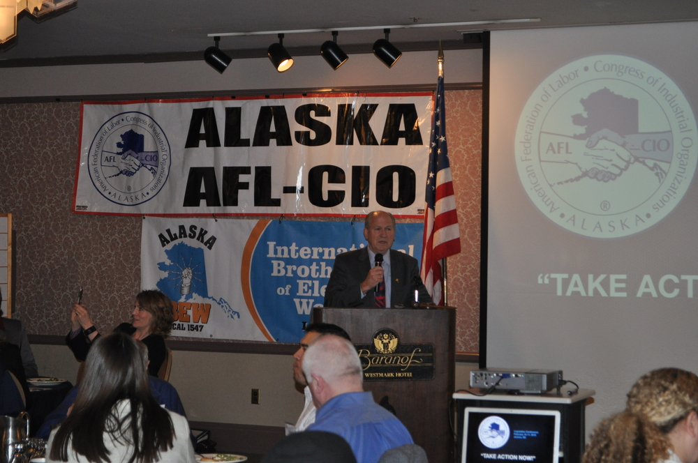 Governor Walker at AFL-CIO 2016 Legislative Conference