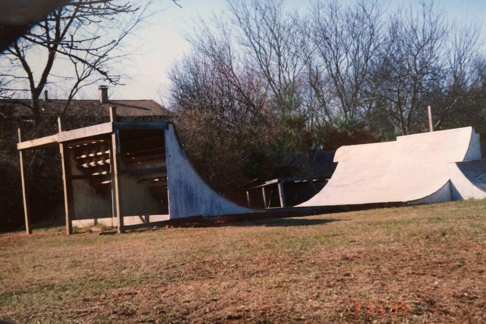 Bike / Skate Ramp - 1996-7