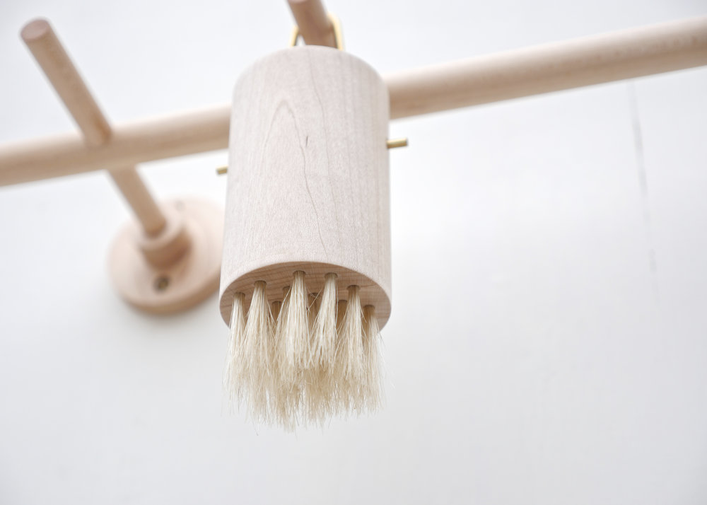 Hanging Vessel - Bristles