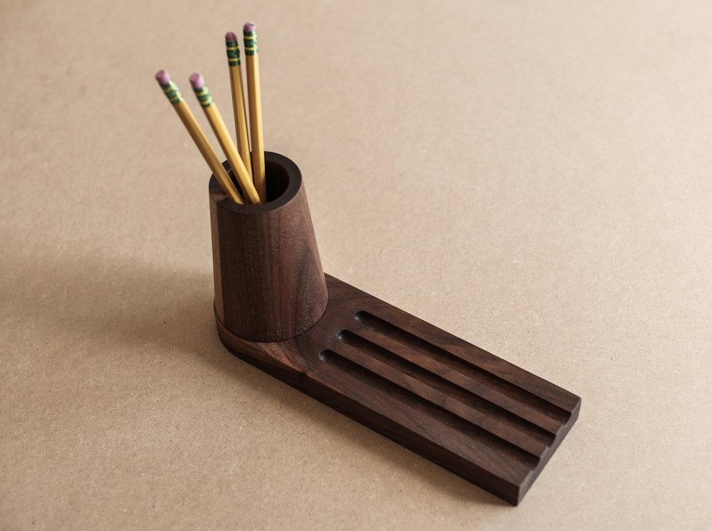 Pencil Tray - No. 1 / Walnut