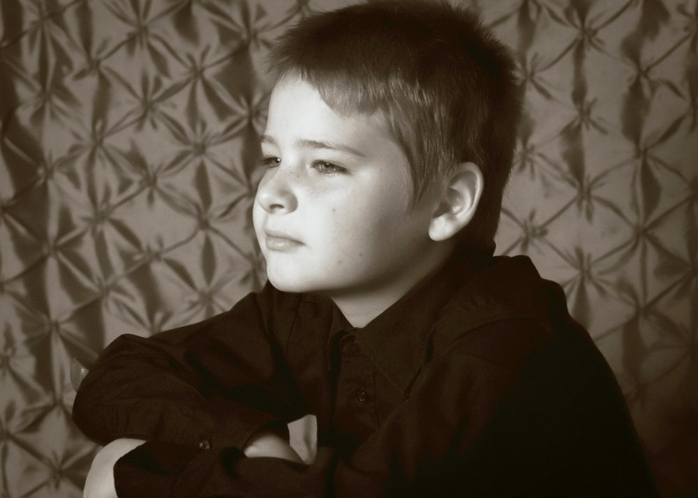 My middle boy on his 9th birthday thinking about what he wanted to be when he grows up.  His answer is he wants to own a ranch and one day become president. Why does he want to become president? Because he wants to make our country a better place where nobody goes hungry or has to be without a home.  He also wants to be a soccer coach.