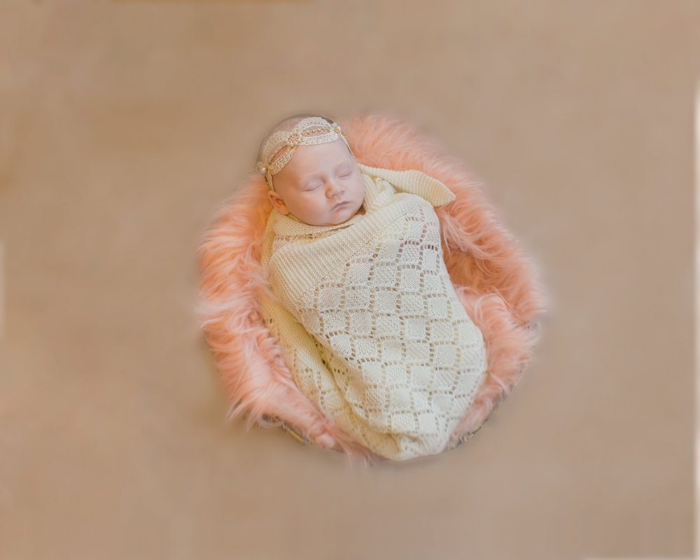 Baby Lillian's first portrait session and the first Curtis Famil