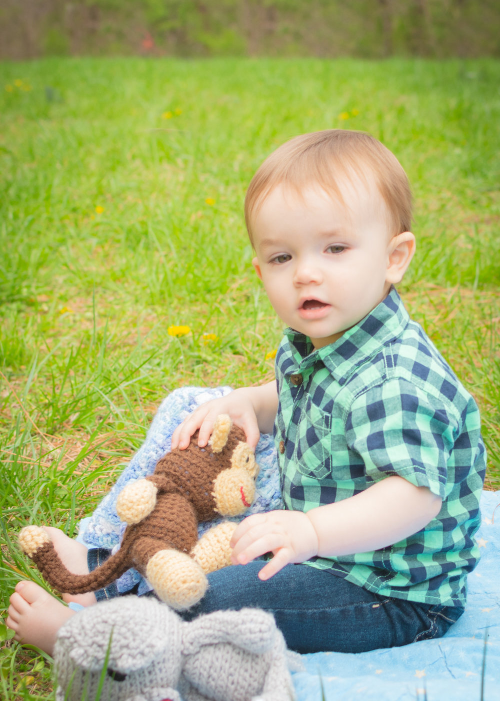 Little Maddox 1 year milestone session