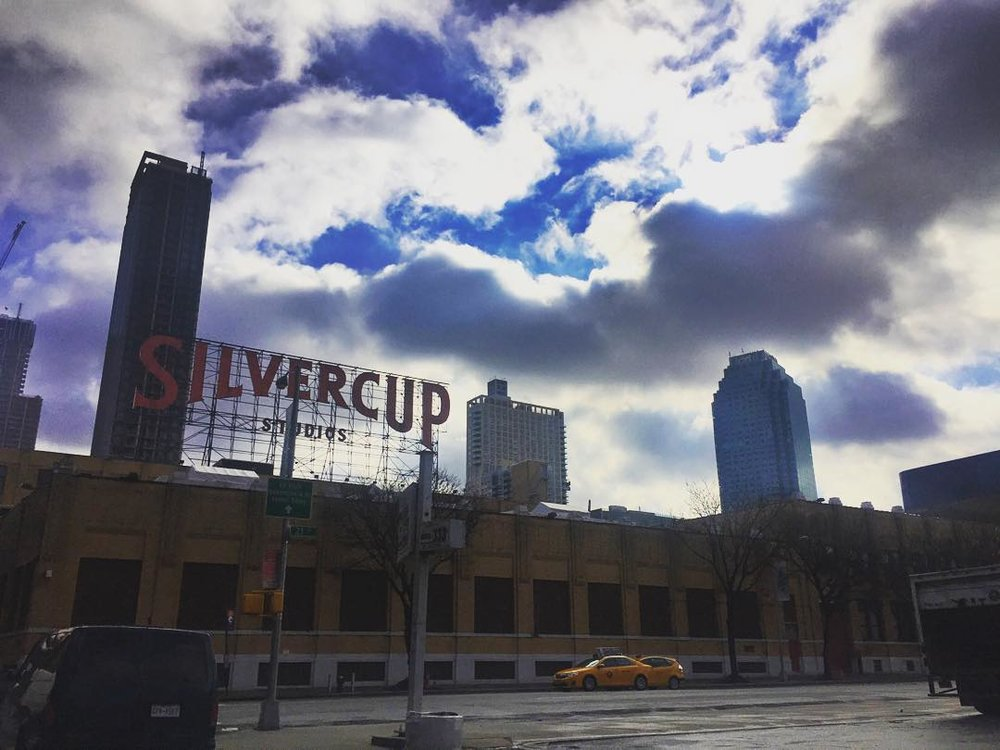 And the skies opened up            #silvercupstudios #silvercup #citicorp #citicorpbuilding #longislandcity #queensborobridge #qbb #queenscapes #heartofqueens #seeyourcity #itsinqueens  (at Silvercup Studios)