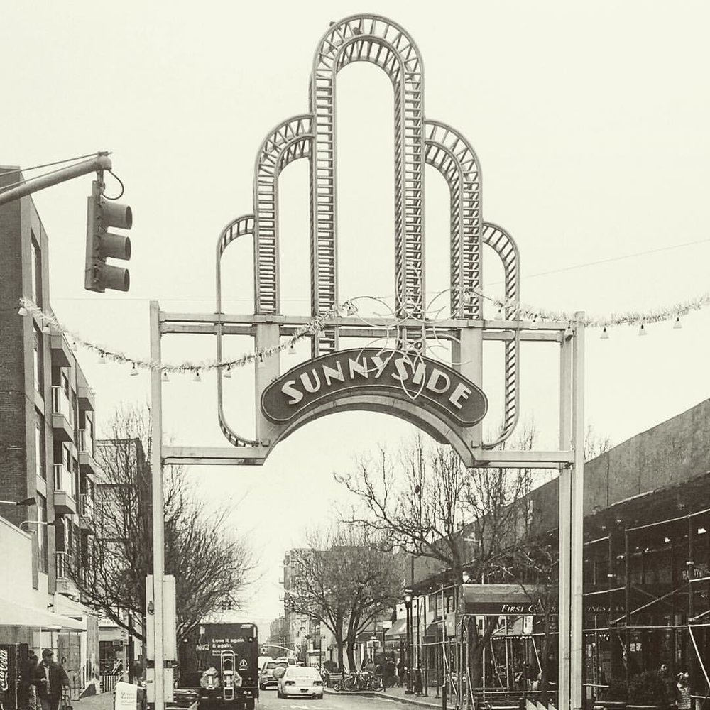 Sunnyside ❤️              #Sunnyside #sunnysideny #queensnyc #queensny #queens #queenscapes #heartofqueens  (at Sunnyside, New York)