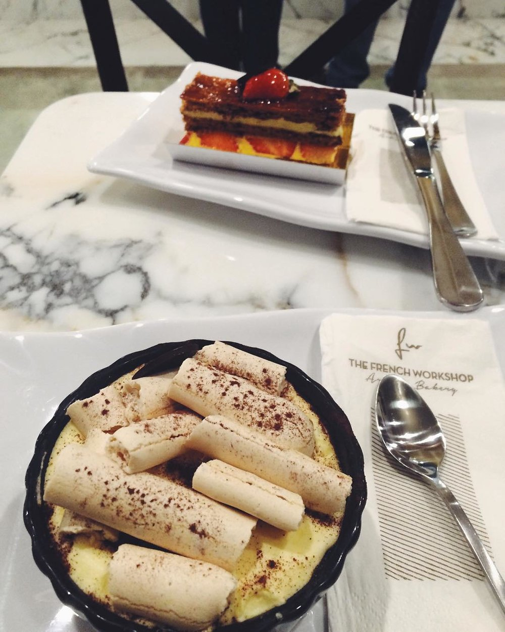There's a new French bakery in Bayside & the tiramisu is SO GOOD!  @lisa_ocon checked out The French Workshop on Bell Blvd & 39th Ave.          #bayside #baysideny #queensbakeries #queenseats #queensistasty #heartofqueens #bellblvd  (at Bell Blvd.)