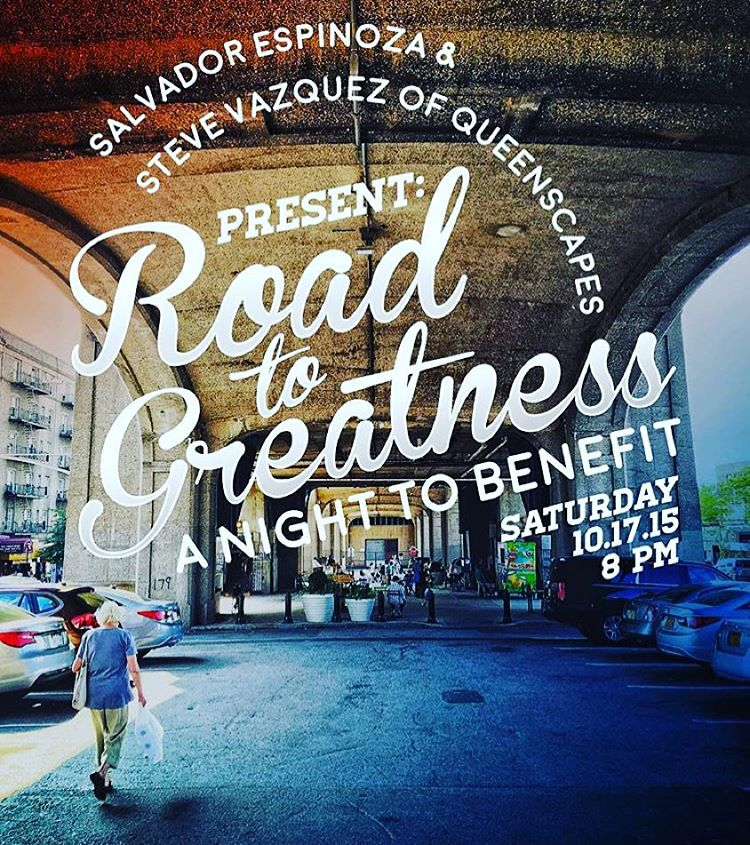 More fun things going on tonight in Astoria!  Head to Astoria Coffee at 8pm for a benefit for the Road to Greatness Foundation, an organization that cultivates leadership within Queens youth.  There will be amazing photos by Queens' own Steve Vasquez of @queenscapes & Salvador Espinoza @sespin!