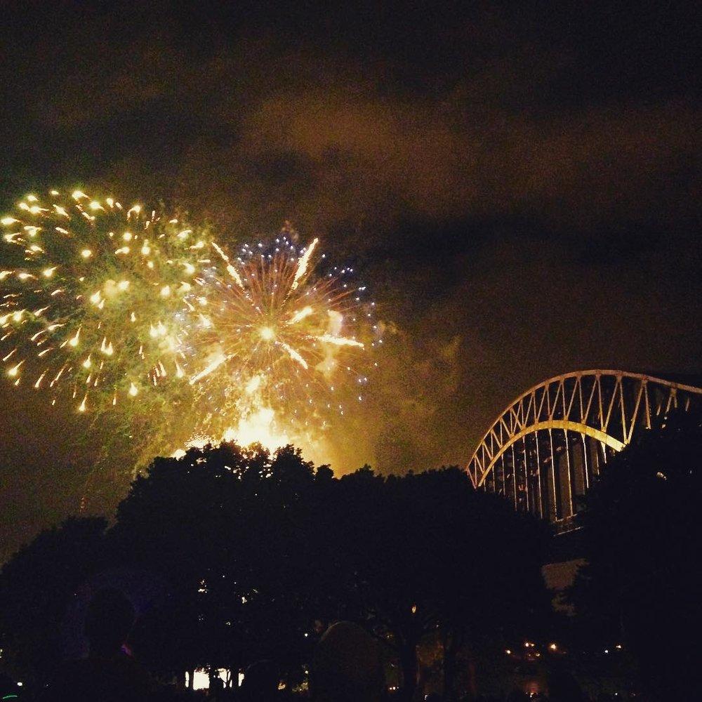Astoria Park fireworks