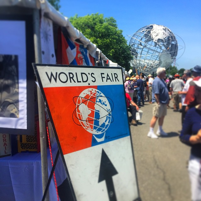 Day 18/100: The World's Fair Anniversary Festival is going on right now at #FlushingMeadowsCoronaPark. Learn all about the World's Fair plus tons of great food vendors. #queensnyc #queens #heartofqueens #flushingmeadows #corona #flushing #itsinqueens #queenscapes #100DaysOfQueens (at Flushing Meadows - Corona Park)