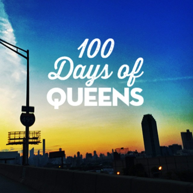 Starting tomorrow join @heart_of_queens as we document #100DaysOfQueens .  Each day for 100 days this summer we'll share old favorites, new adventures and pretty much give you 100 reasons to love #Queens ❤️👑      #heartofqueens #100daysofqueens (at Long Island City water view)