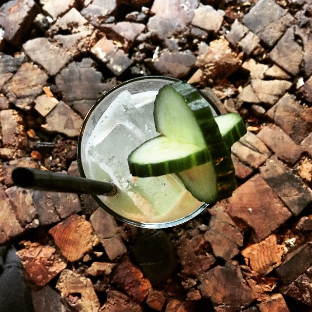 Exactly the drink I needed today - thanks @sweetleafcocktailslic #newdrinkmenu #cucumber #vodka #longislandcity #queens #heartofqueens @suda_nyc  (at Sweetleaf Cocktails)