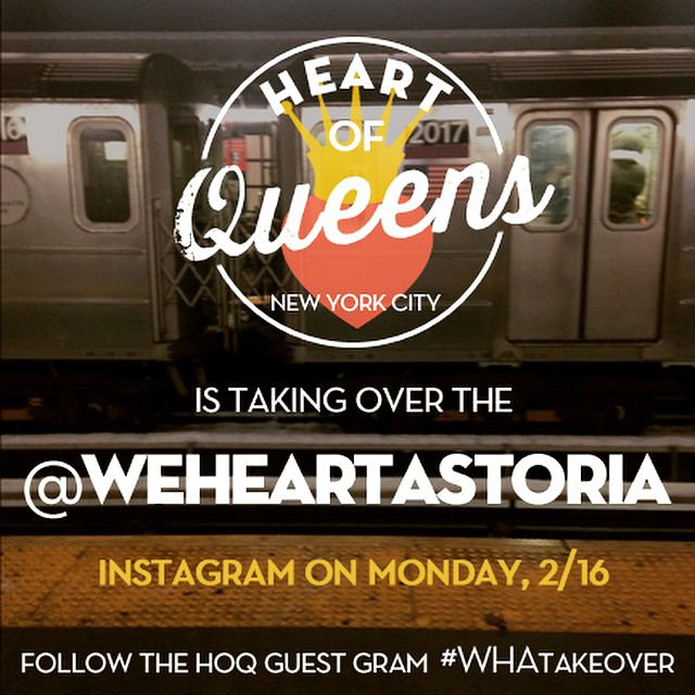 Hey, #Astoria guess what's happening tomorrow? We are doing an Instagram takeover of the @weheartastoria account for the day!  Follow our adventures tomorrow around #Astoria ❤️#WHAtakeover #instatakeover