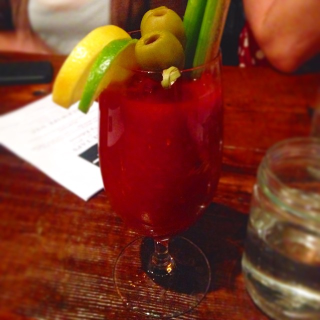 I could really go for one of these @alewifenyc bloody marys right now #LIC #wishitwassaturday