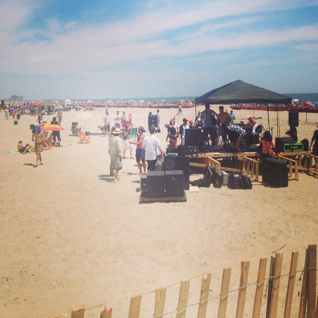 Rockstock & Barrels #rockaway #B90 @RockStock2014 (at Beach 91st - Rockaway Beach)