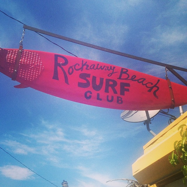 It was really hard getting to work this morning after such a great weekend in #Rockaway (at Rockaway Beach Surf Club)
