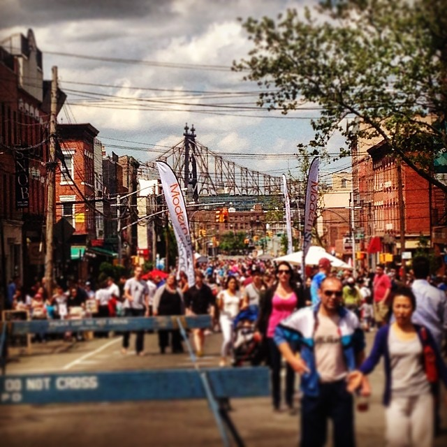 Great day for a block party! #licsprings @licpartnership  (at Vernon Blvd, Lic, Qns)