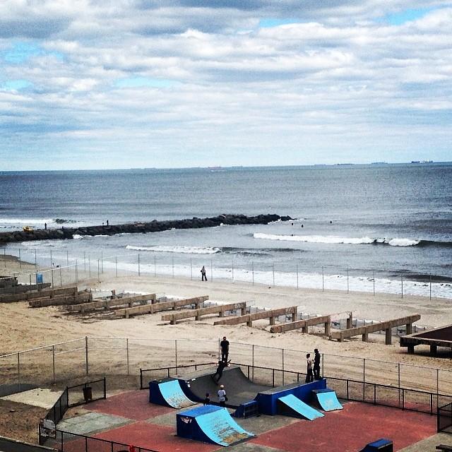 Skate park 2.0 #rockaway (at Rockaway Beach 90st)
