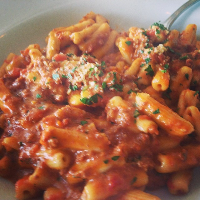 mmmm cavatelli (at Forno Pizzeria & Trattoria)