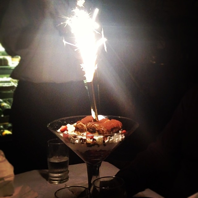 Happy birthdays at Antica Trattoria in Ridgewood.       View  Queens, NY  in a larger map