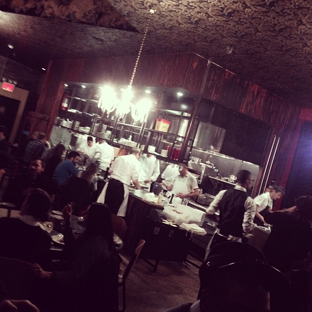 "hungrycarly: M Wells Steakhouse ""soft"" opening. These guys don't play! #comingsoon #LIC (at M. Wells Steakhouse)"