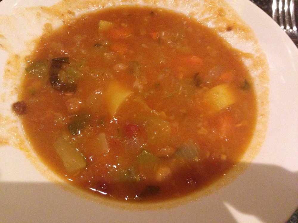 The best remedy for a cold is Manetta's minestrone soup. Manetta's 10-76 Jackson Ave. Long Island City, NY