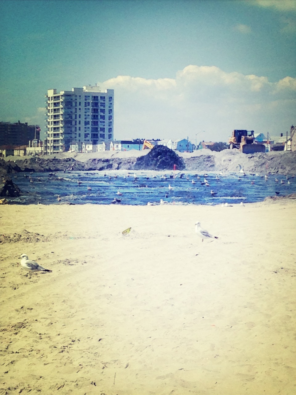 New sand in Rockaway B88/90