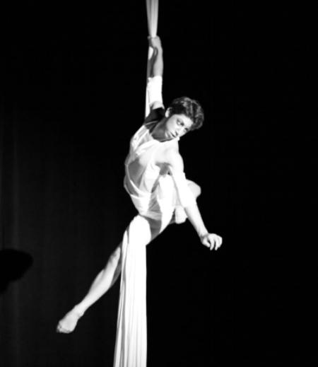 RACHEL BOYADJIS Aerialist, Dancer photo by Andrew Whitlatch
